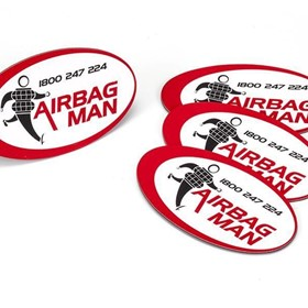 Airbag Man Magnet WD05MAGNET | Permanent Magnets
