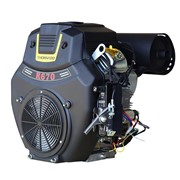 Thornado 23HP VTwin Petrol Engine 670cc Electric Start Inc. Muffler