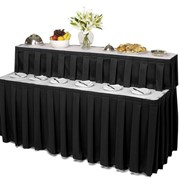 Two-Tier Catering Tables