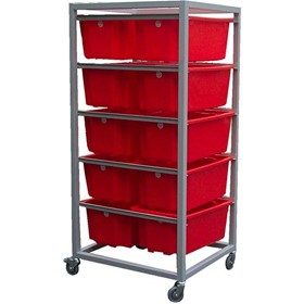 Custom Bin Racks & Order Picking Trolleys