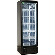 Rhino | Triple Glass Door Bar Fridge Black Upright | SGT1R-B