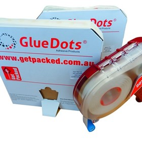 Glue Dots - Sticky Dots - Peelable Dots of Glue - Glue Dots Adhesive