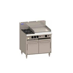 CRO 900mm Gas Burner and Static Ovens