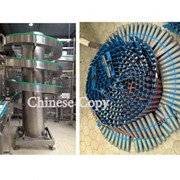 Chiniese spiral conveyor copy disrupts end user production