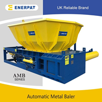 Fully Automatic Scrap Metal Baler | Aluminum Can Baler | AMB-H1075