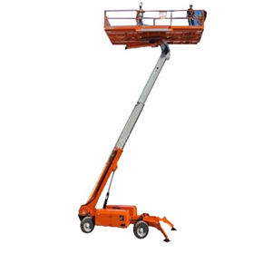 Self-Propelled Boom Lift | MEC Titan 40S Ultra Deck