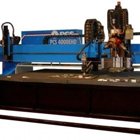 HD Heavy Duty CNC Plasma & Oxy Fuel Cutting Machine