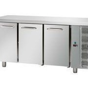 Tecnodom 3 Door Stainless Steel Under Bench Fridge