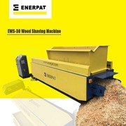 Wood Shaving Plant for animal bedding - Wood shaving mill EWS30