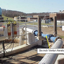 Venturi Aerator helps WWTP comply with Dissolved Oxygen Requirements
