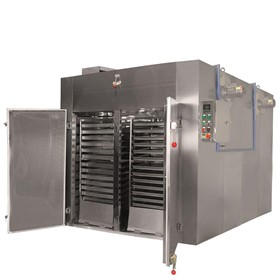 Four Trolley | 120-Tray Industrial Food Dehydrator