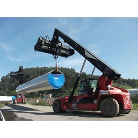 Reach Stacker Attachment | Multipurpose Frame with Lower Hook