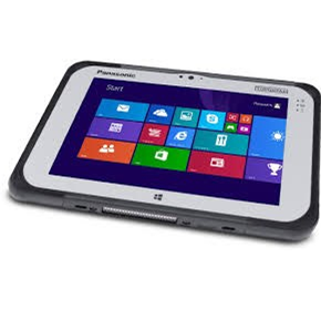 Rugged Tablet IP65 rated | Panasonic Toughpad FZ-G1