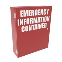 Emergency Information Storage Cabinets