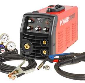POWERCRAFT® 190C | 3 in 1 Stick, TIG, MIG Welding Machine