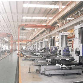 Magnum-Cut Horizontal Boring Machine