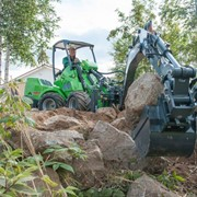 Backhoe Loader Attachment | Avant Compact Articulated Loaders