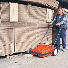 Sweepmaster M600 Push Walk Behind Sweeper