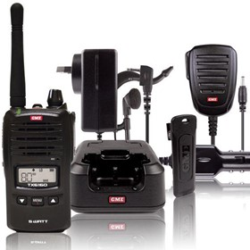 TX6160 5 Watt IP67 UHF CB Handheld Radio w/ Accessories