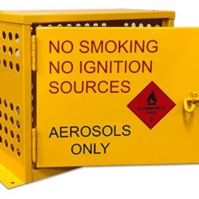 Aerosol Can Storage Cages