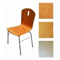 Cafe / Restaurant Chairs Contoured Single Piece Plywood Elegant