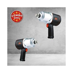 "3/4"" Square Drive Composite Air Impact Wrench & 1"" Air Impact Wrench"