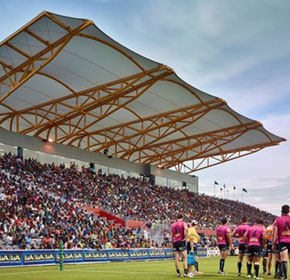 L&A boots a goal with Bishop's Enerpac bolting on PNG stadiums