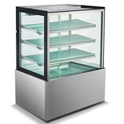 900mm Straight Glass Cake Display - 4 Shelves | Mitchel Refrigeration