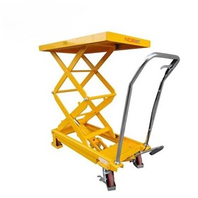 Manual Hydraulic Scissor Lift Trolleys - Single/Double Lift