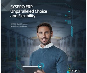 SYSPRO ERP Unparalled Choice & Flexibility