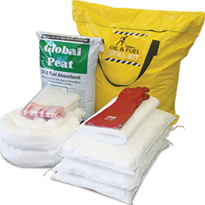 Spill Kit - Oil and Fuel Truck Bag with Global Peat 122L (SKHT-P)