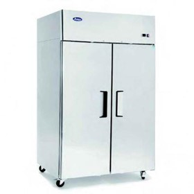 Atosa Top Mounted Double Door Commercial Fridge