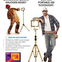 Caution – Hot Work Lights are dangerous