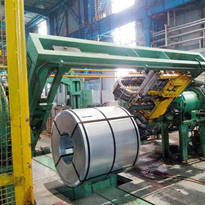 Automatic Steel Bundling Machine - Cold Rolled Coil Bundling