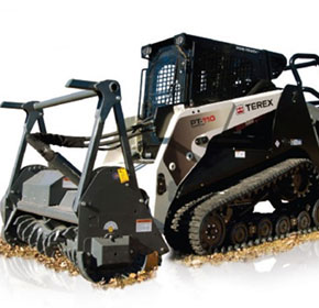 Forestry Skid Steer Loader | Terex PT-110