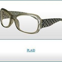 Radiation Protection Eyewear | Plaid