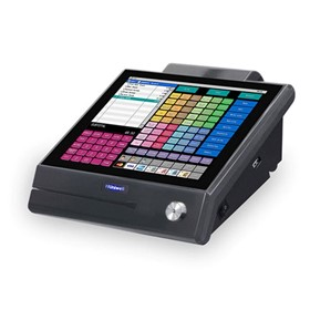 Compact Bezel-Free Touch Screen POS | HX-1500