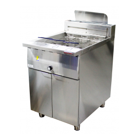 Oxford Single Tank Freestanding Gas Deep Fryer - GFF600