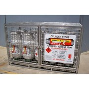 Forklift Gas Storage Cage