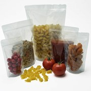 Clear Stand Up Pouches | Food Packaging