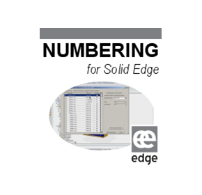 Numbering | Solid Edge