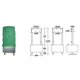 Electrical Cabinets I 2A Termination Pillar