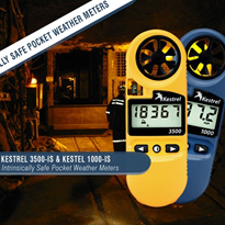 Kestrel-IS | Intrinsically Safe Pocket Weather Meters