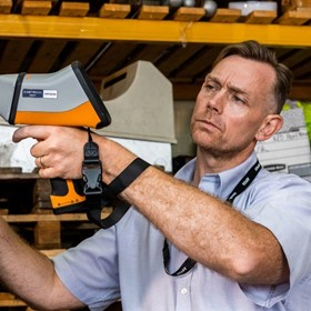 Handheld XRF for QA QC
