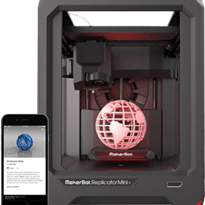 Entry Level Compact 3D Printer | Makerbot Replicator Mini +