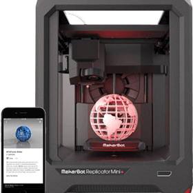 Entry Level Compact 3D Printer | Replicator Mini +