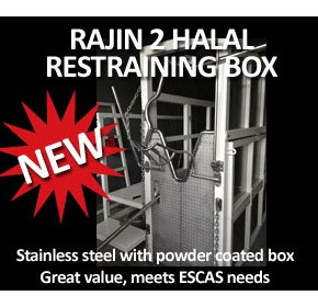 Cattle Restraining Box ESCAS Compliant (Halal) | Rajin 2