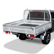 Single Cab Alloy UTE Tray | L 2485 x W 1980mm - Ultimate