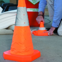 Collapsible Safety Barriers/Cones
