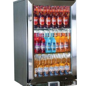 Rhino GSP Outdoor Glass Door Bar Fridge Energy Efficient Alfresco-118L